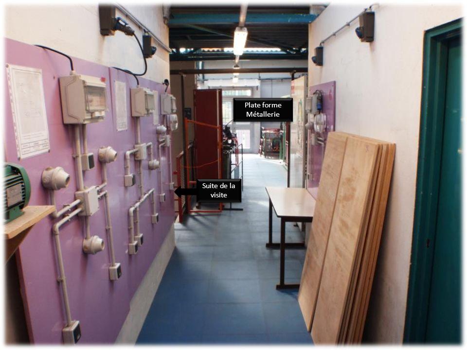 Atelier Câblage Electricité Atelier Câblage Electricité Atelier Métallerie Atelier Métallerie