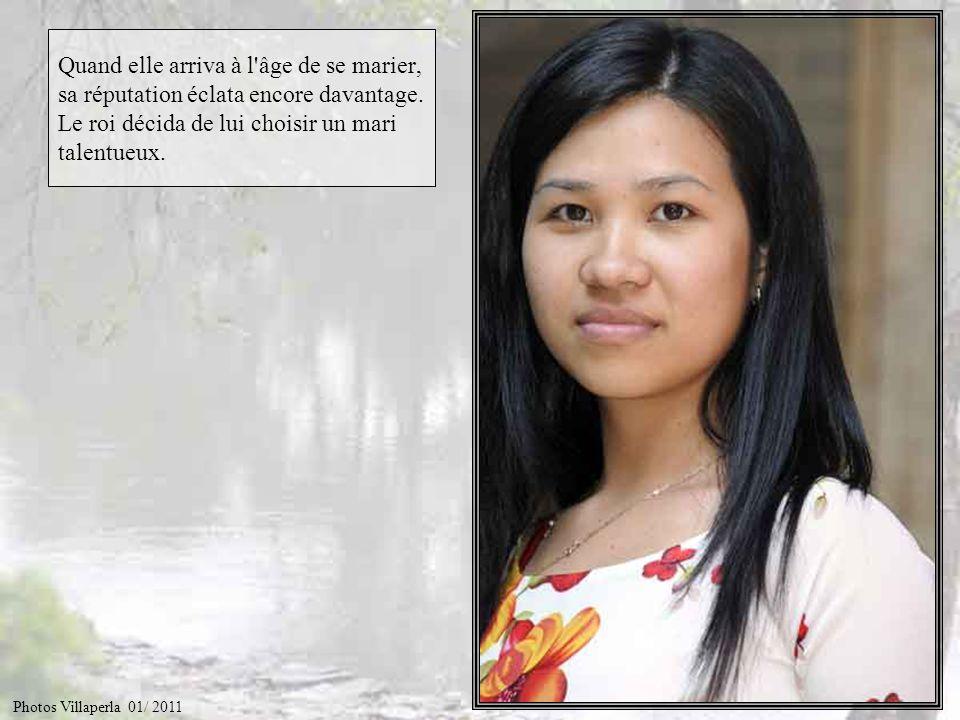 Et bien voilà… Le dix-huitième roi Hùng Vuong avait une fille Mi Nuong, d'une extraordinaire beauté. Photos Villaperla 01/ 2011