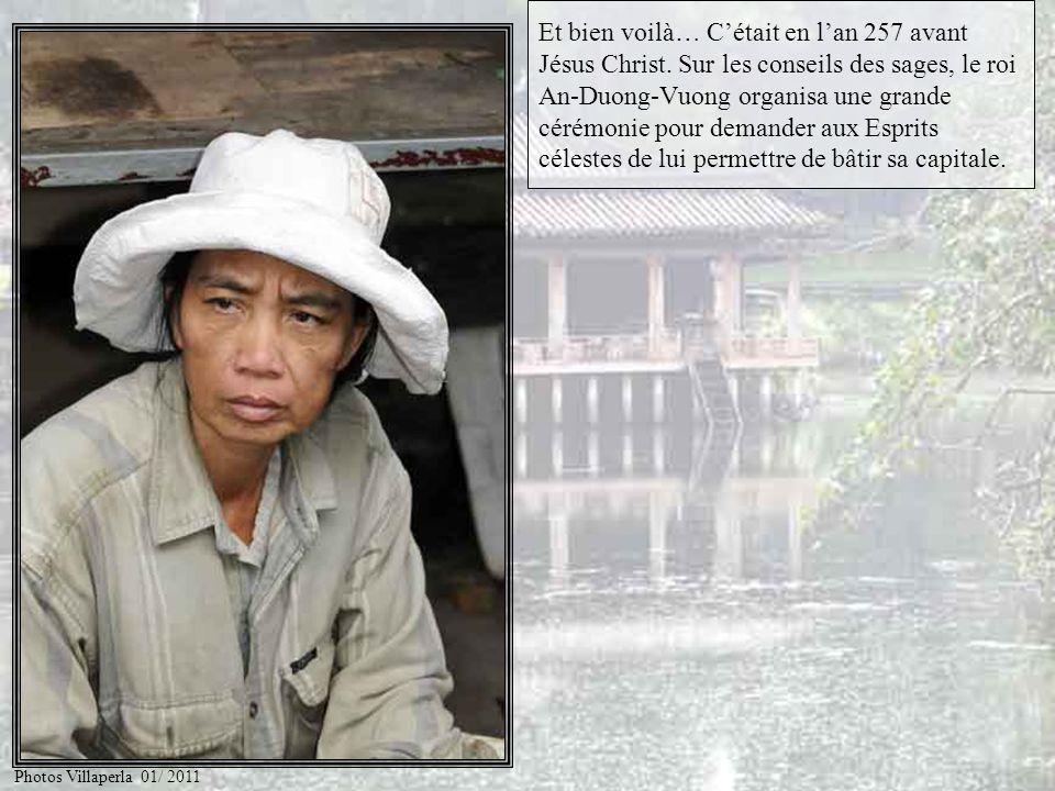 Raconte nous la légende de My Chau, Trong Thuy et de l'«Arbalète Magique » offerte par le génie de la Tortue d'Or. Photos Villaperla 01/ 2011