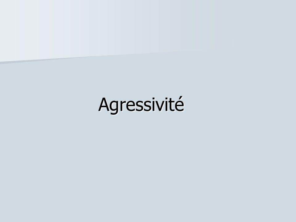 Agressivité