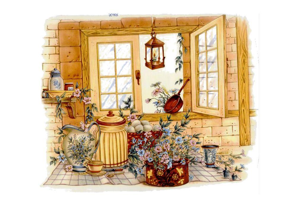 Les moules à pâté trônent sur l'étagère, Et, lors des grandes fêtes, sur la table de bois, Posée avec fierté par l'humble ménagère La galantine est digne de la table d'un roi.