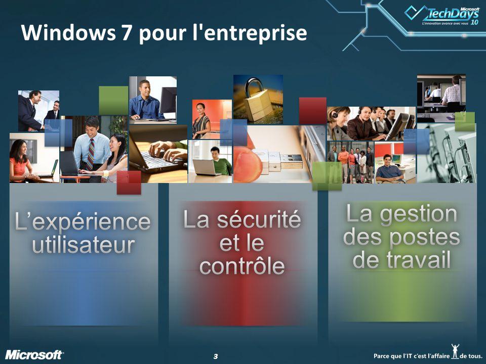 33 Windows 7 pour l'entreprise