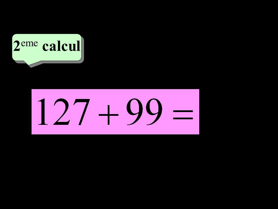 –1–1 2 eme calcul 2 eme calcul 3 eme calcul