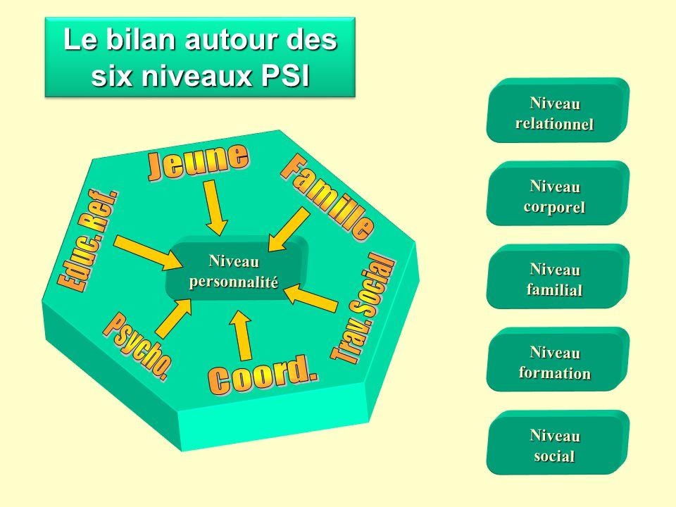 Niveaufamilial Niveaucorporel Niveauformation Niveausocial Niveaupersonnalité Niveaurelationnel