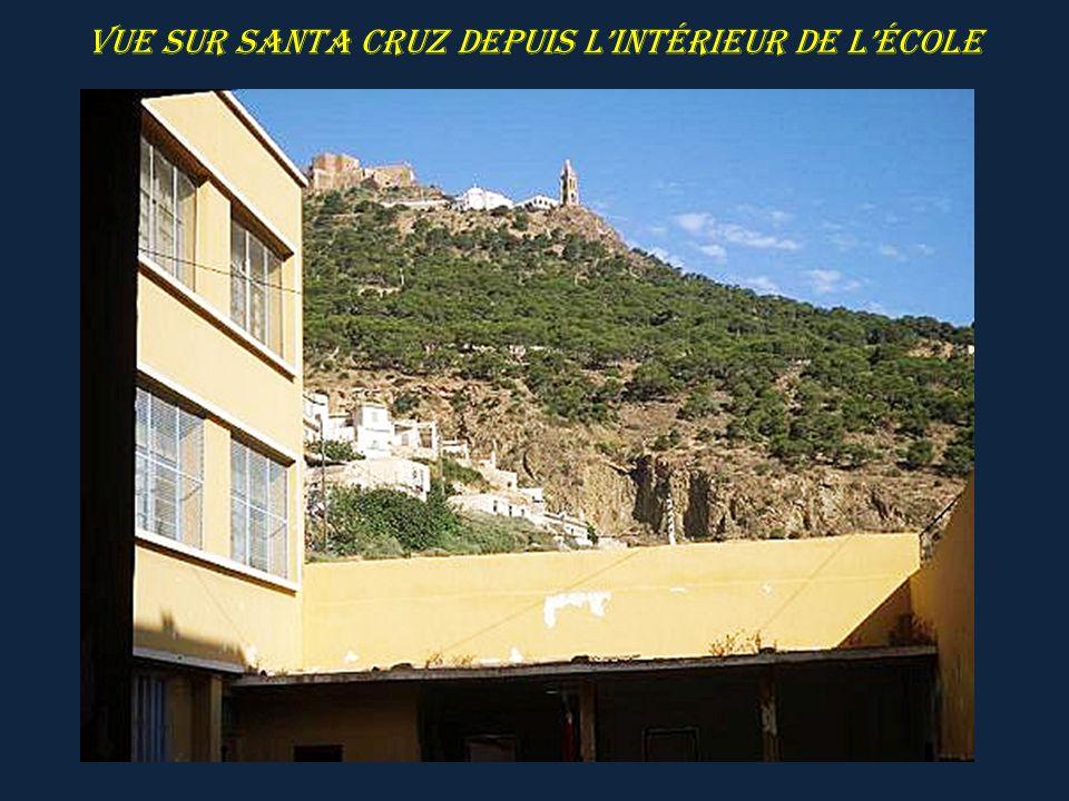 Fort de Santa Cruz le téléphérique