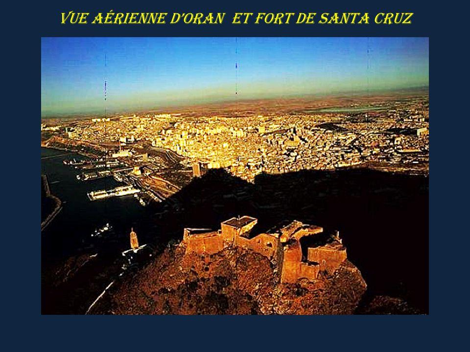 ORAN rade de Mers-El-Kebir et fort de Santa Cruz