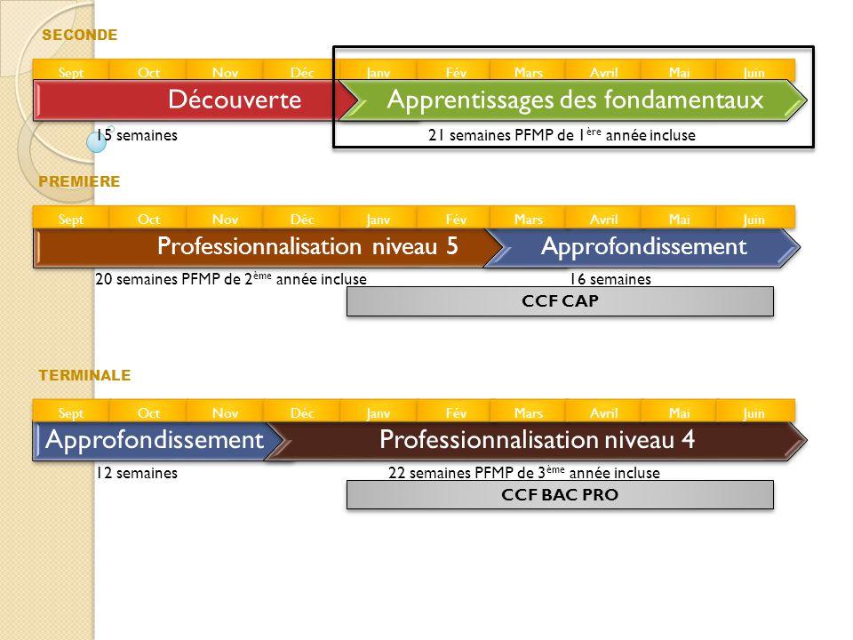 Apprentissages des fondamentaux Objectifs : •Appréhender des savoir-faire professionnels et des connaissances professionnelles de base.