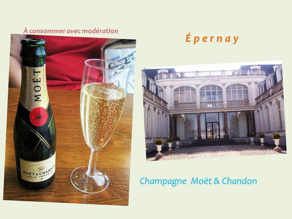 É p e r n a y Champagne Mercier À consommer avec modération