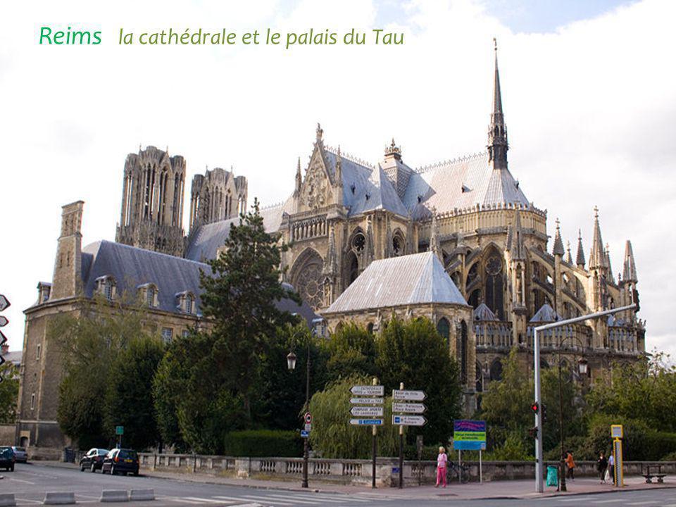 Cathédrale Notre-Dame Reims Basilique Saint-Rémi