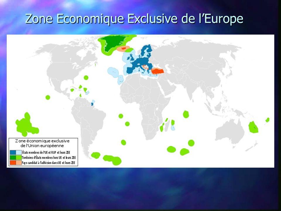 Zone Economique Exclusive de la France Zone Economique Exclusive de la France