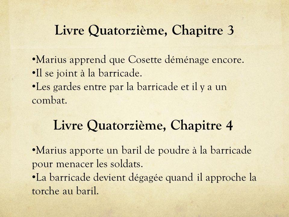 Livre Quatorzième, Chapitre 3 • Marius apprend que Cosette déménage encore.