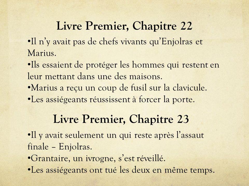 Livre Premier, Chapitre 22 • Il n'y avait pas de chefs vivants qu'Enjolras et Marius.