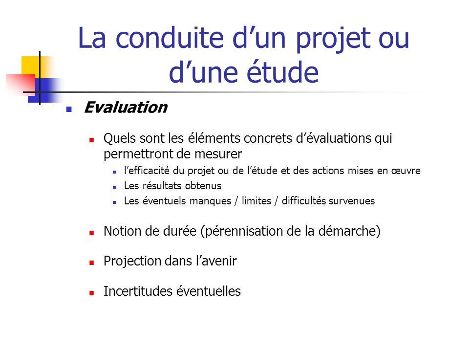 La conduite d'un projet ou d'une étude Autre méthode pour rechercher et rassembler ses idées : la grille de Quintilien (méthode QQOQCCP)  QUI .