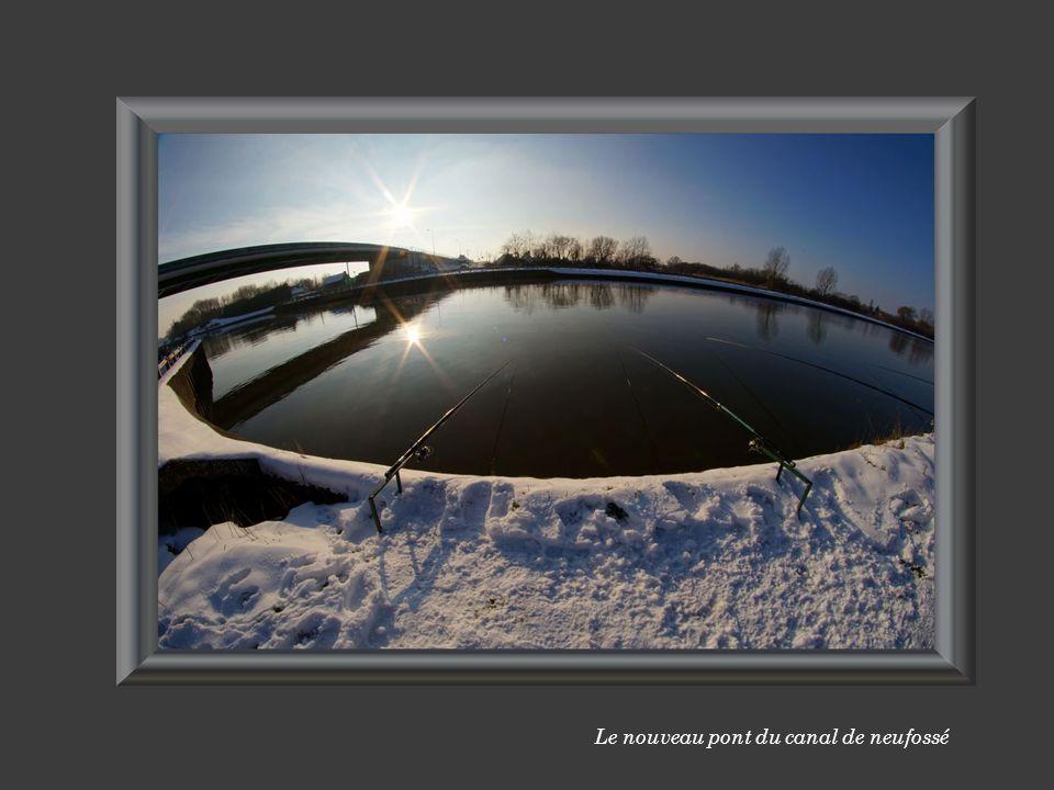 Le nouveau pont du canal de neufossé