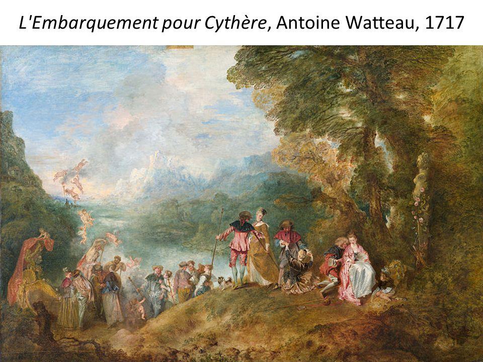 L Enseigne de Gersaint, Antoine Watteau, 1720