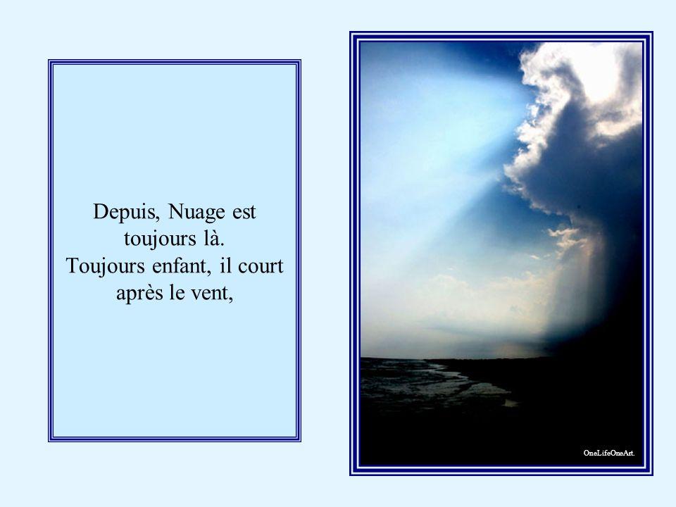 Mais enfin le mal était fait, et ils eurent beau se disputer, Nuage, qui était un enfant têtu, resta dans le ciel et n en bougea plus jamais.