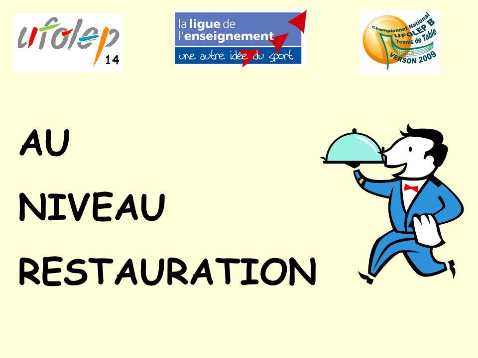 AU NIVEAU RESTAURATION 14