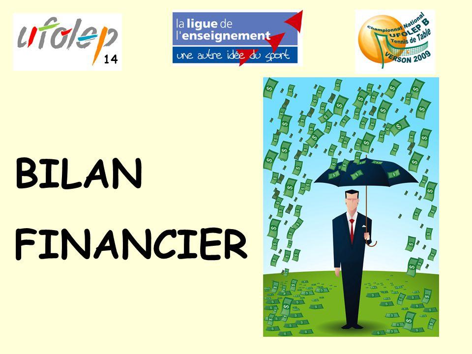 BILAN FINANCIER 14