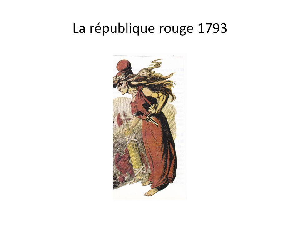 La république rouge 1793