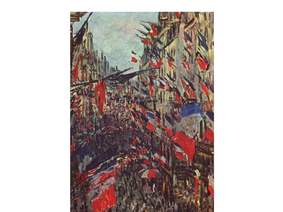 Jean-Baptiste Detaille (1848-1912), Remise de ses nouveaux drapeaux et étendarts à l'armée française sur l'hippodrome de Longchamp, le 14 juillet 1880, huile sur toile réalisée entre 1880 et 1881, 2,615m x 4,890m, Paris, musée de l'Armée, (C) Paris-Musée de l'Armée, Dist.