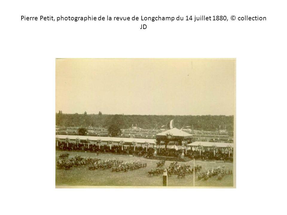 Pierre Petit, photographie de la revue de Longchamp du 14 juillet 1880, © collection JD