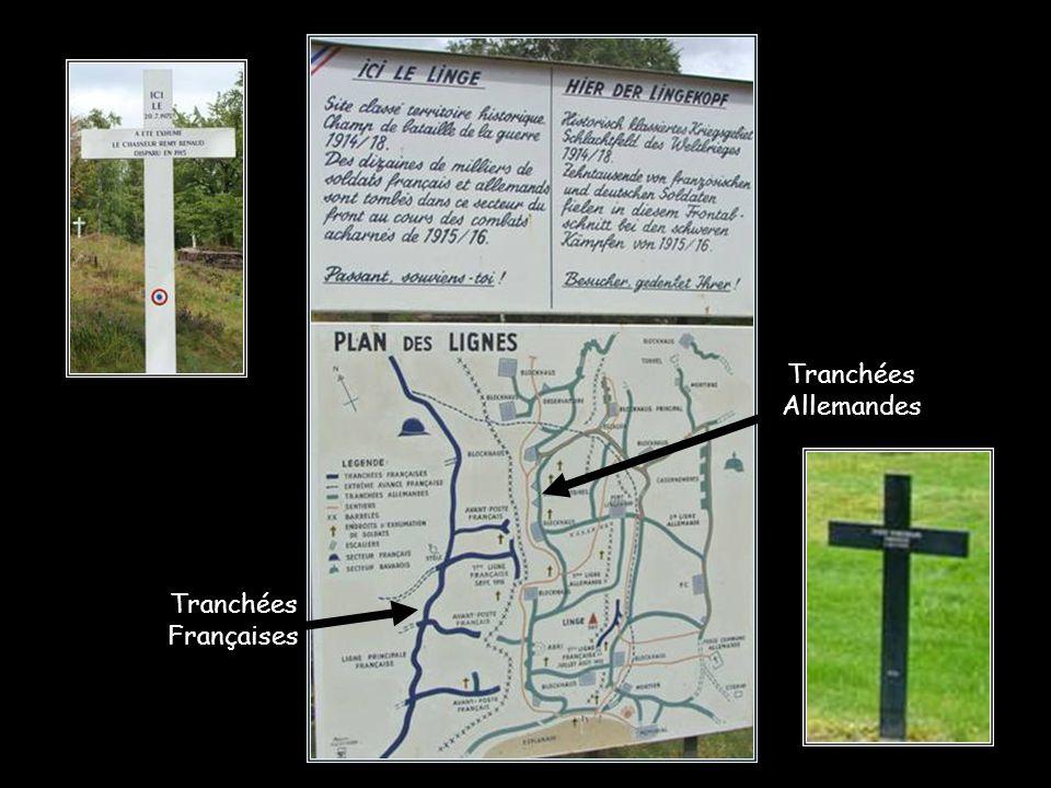 Au cimetière de Wettstein (près du Linge) on peut lire cette plaque: A L.G… 11é Bataillon chasseurs Alpins disparu à Barrenkopf 22-07-1915 à l'âge de