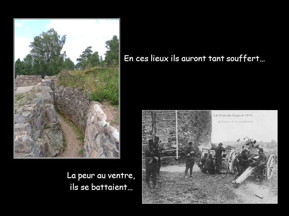 Dans la mort il n'y a plus ni frontière ni guerre…