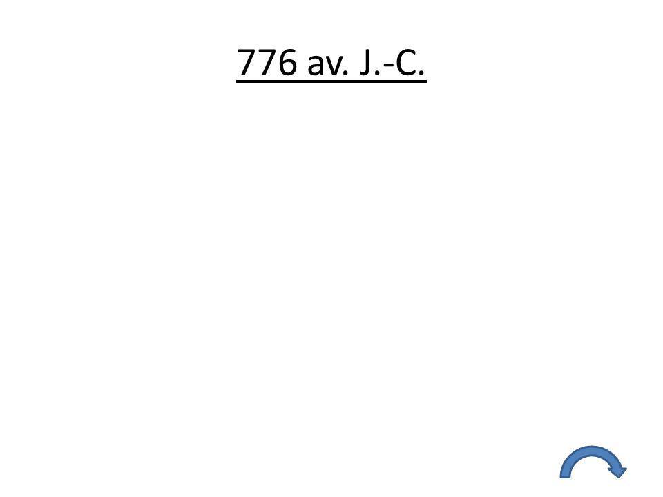 776 av. J.-C.