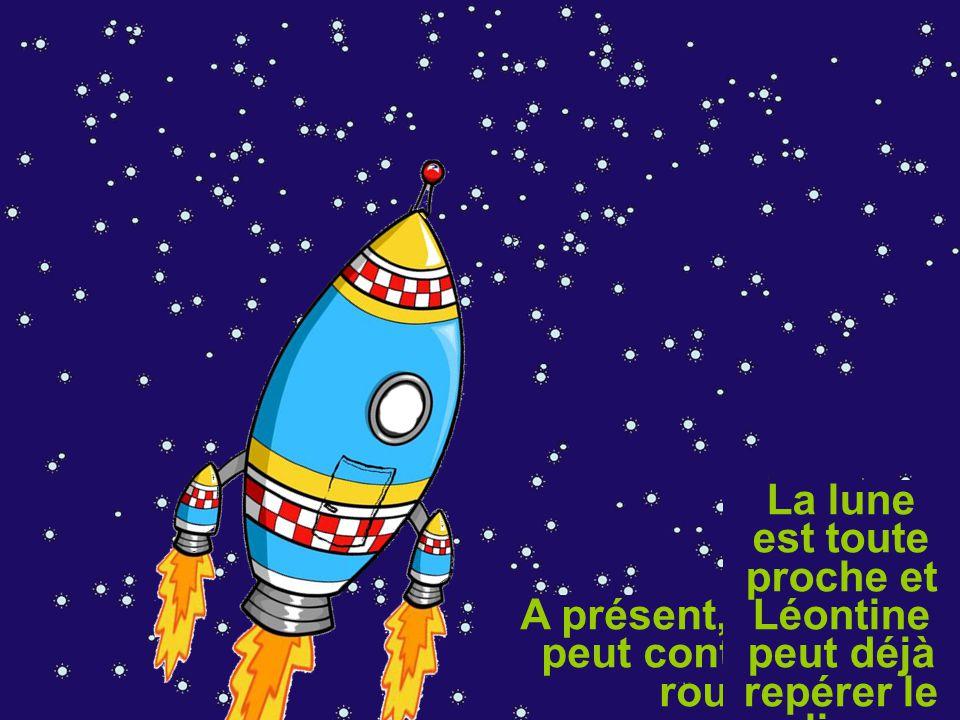 Léontine doit sortir dans l'espace pour réparer l'antenne.