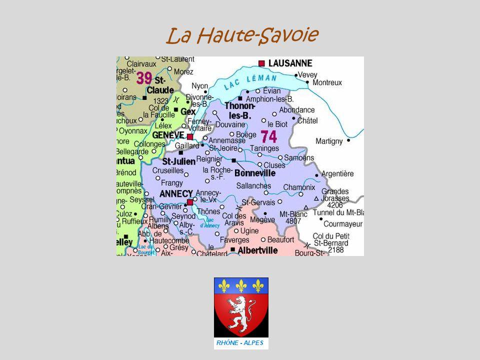 Cluses la vallée de l'Arve ( un torrent )