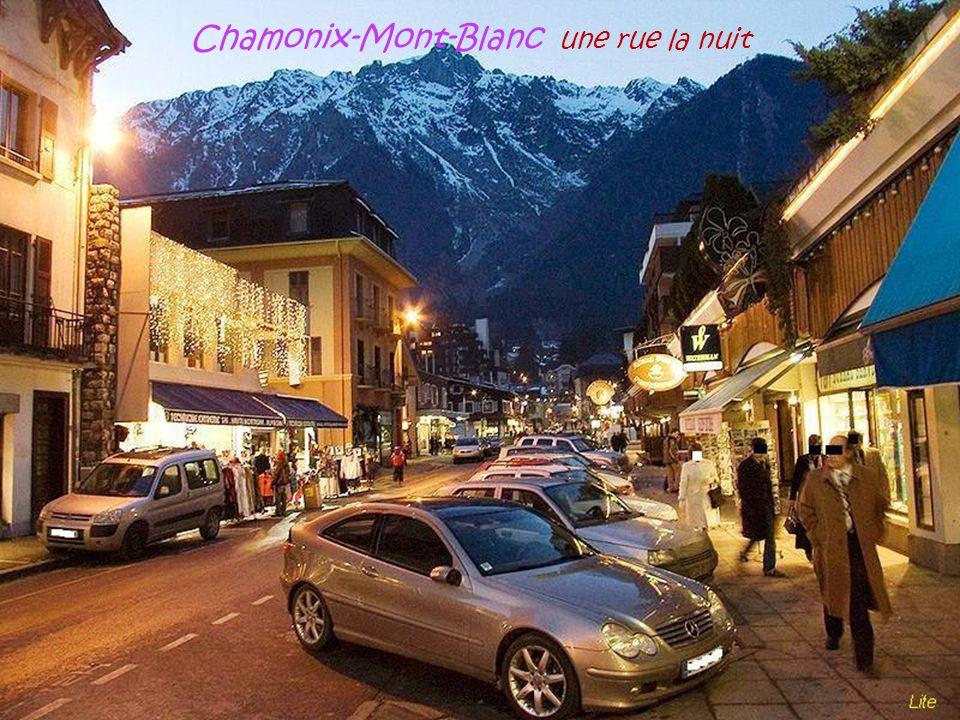 Chamonix-Mont-Blanc l'église