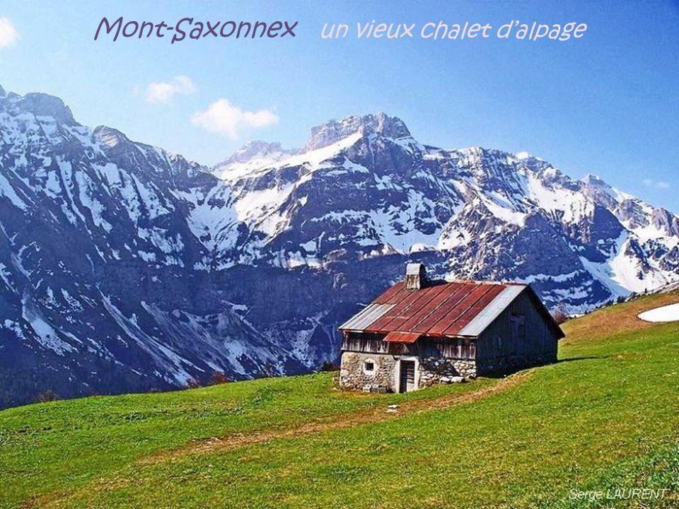 Mont-Saxonnex un vieux chalet d'alpage