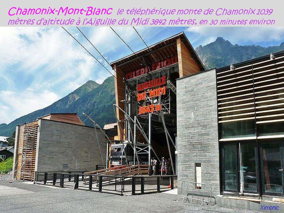 Chamonix-Mont-Blanc grotte de glace, Mer de Glace