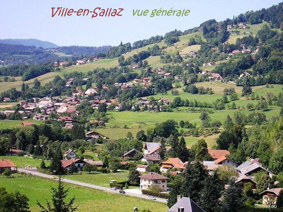 Ville-en-Sallaz vue générale