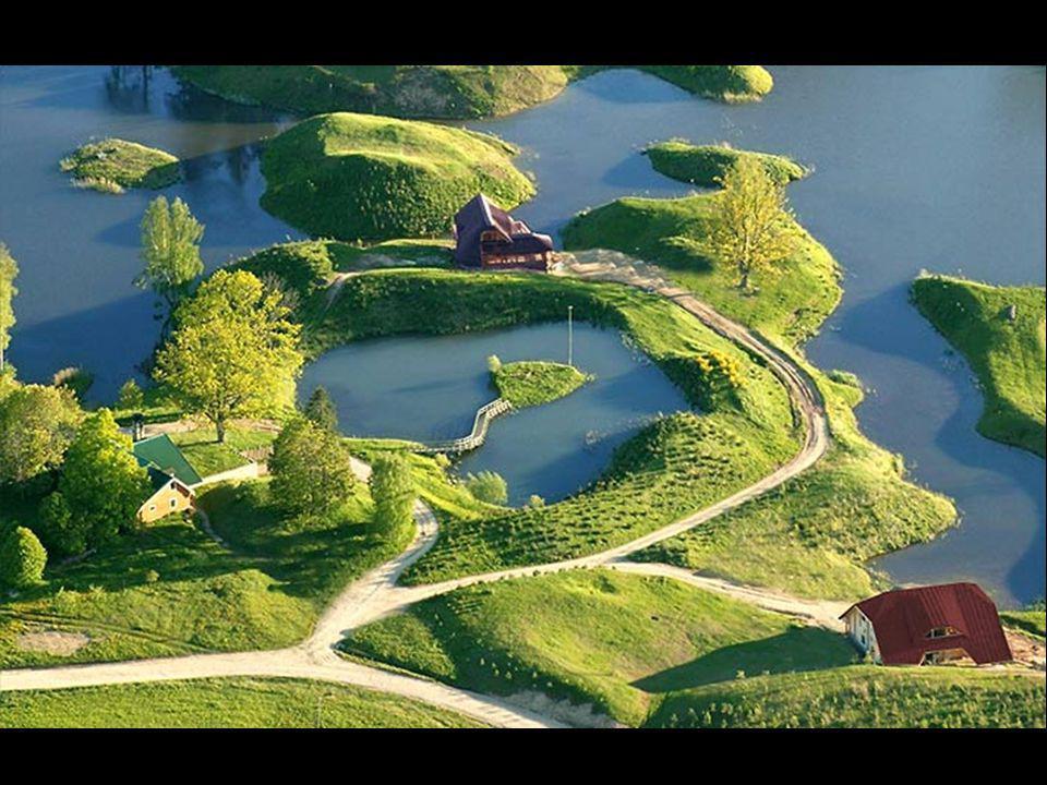 Amatciems, Lettonie. Le Paradis inconnu de Lettonie