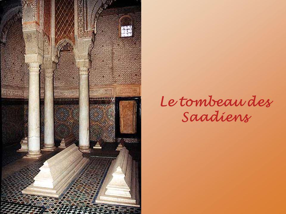 Le tombeau des Saadiens