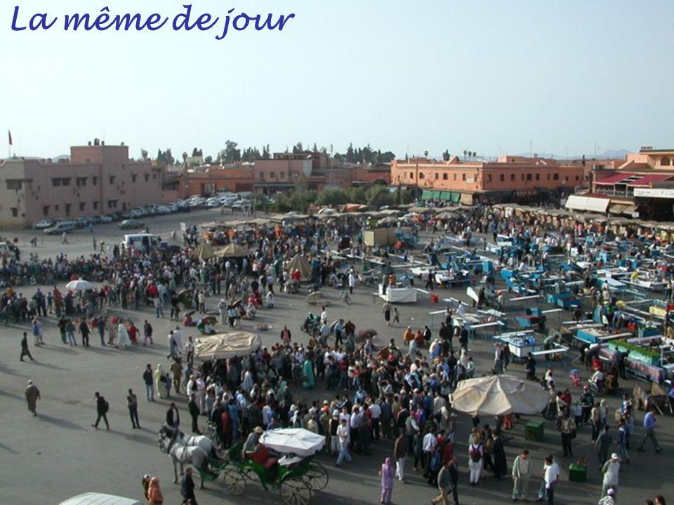 Place Jama el Fnaa la nuit