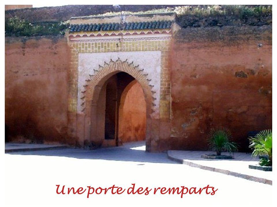 Les remparts de la Medina