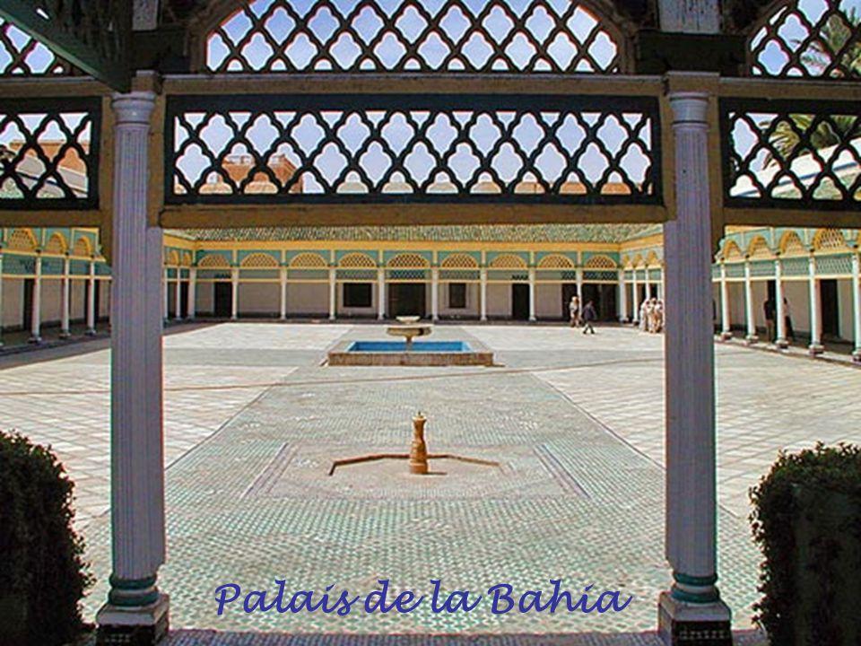 Cour intérieure de la Medersa