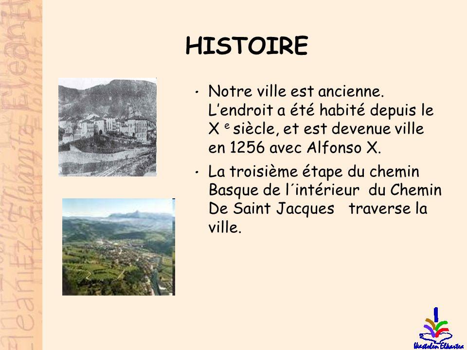 HISTOIRE • Notre ville est ancienne. L'endroit a été habité depuis le X e siècle, et est devenue ville en 1256 avec Alfonso X. • La troisième étape du