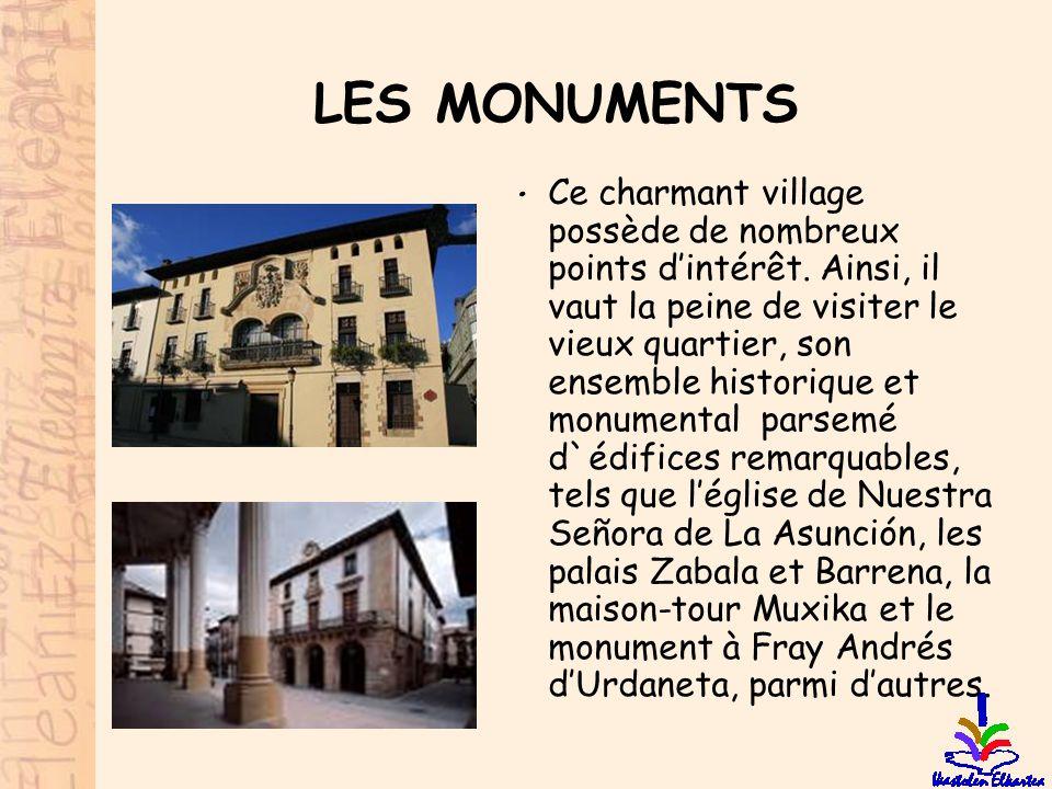 LES MONUMENTS • Ce charmant village possède de nombreux points d'intérêt. Ainsi, il vaut la peine de visiter le vieux quartier, son ensemble historiqu