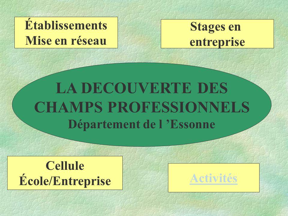 LES ACTIVITES 1.Les activités liées à la connaissance de soi 2.