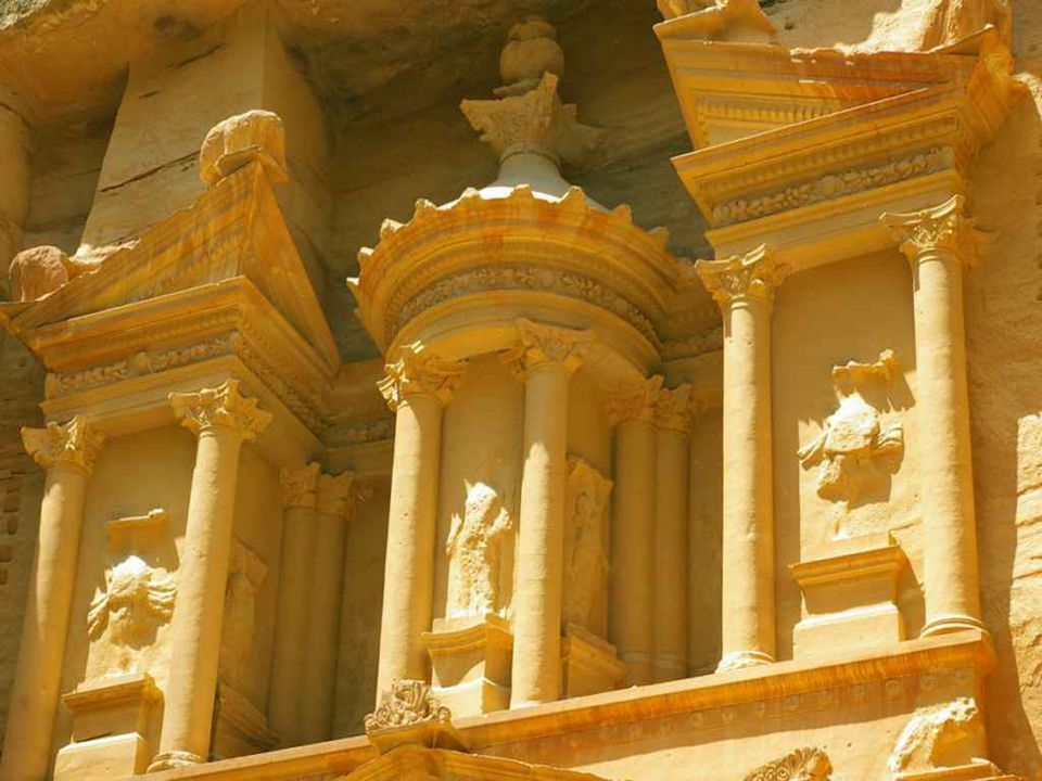 Le monastère d'El Deir - Pétra