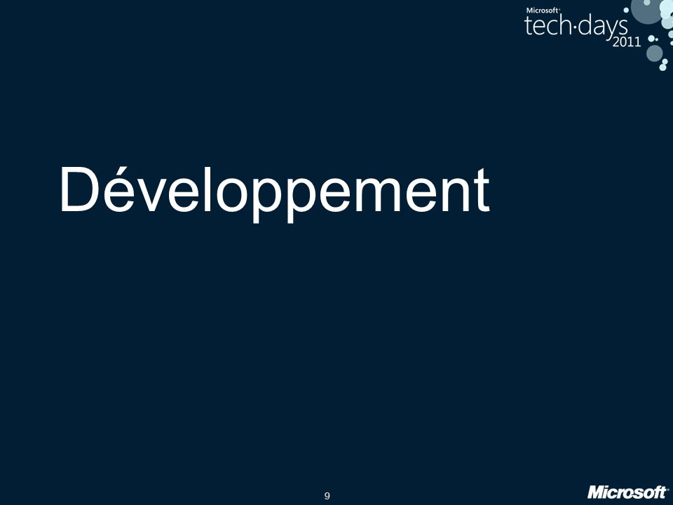 9 Développement