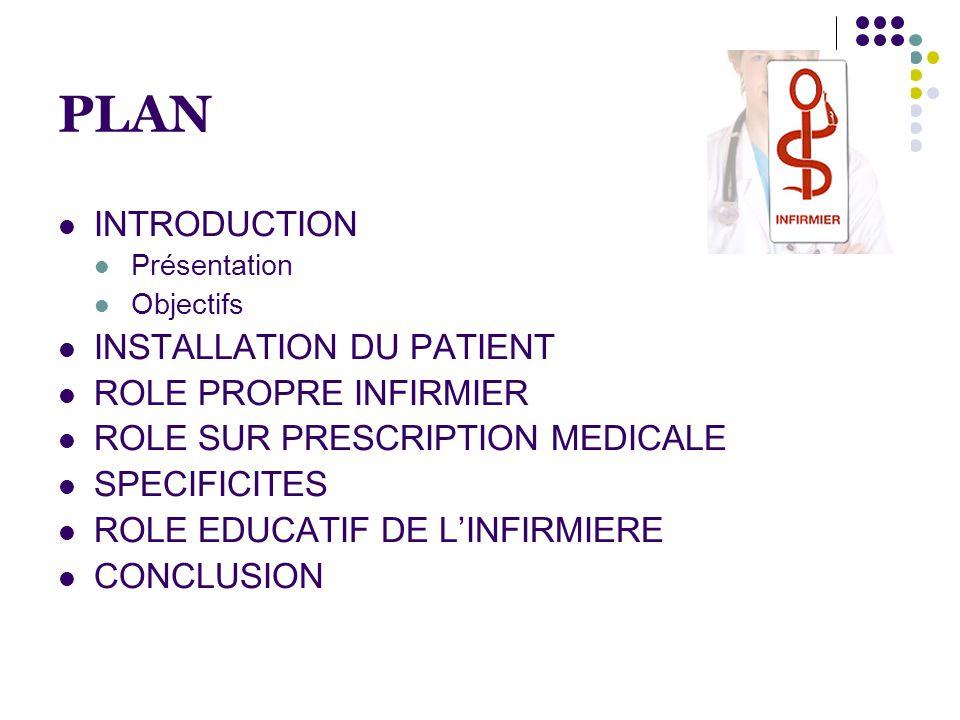 OBJECTIFS A l'issue de ce cours, l'étudiant sera capable d(e) : - installer un patient qui revient de salle de réveil - citer les éléments de surveillance chez un patient opéré - argumenter chaque élément de surveillance - citer les différents conseils de sortie donnés au patient à l'issue de son hospitalisation