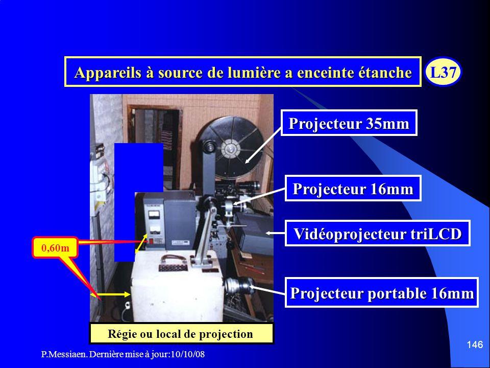 P.Messiaen. Dernière mise à jour:10/10/08 145 Source de lumière a enceinte étanche L37