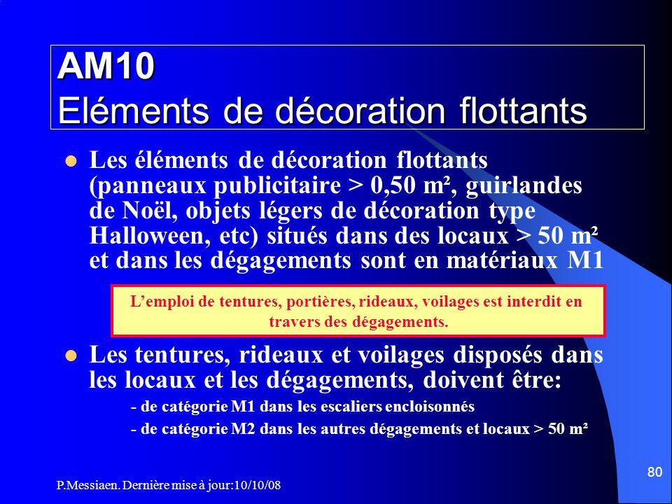 P.Messiaen. Dernière mise à jour:10/10/08 79 Section 6 : Moyens de secours Système d'alerte La liaison avec les sapeurs-pompiers doit être réalisée: (