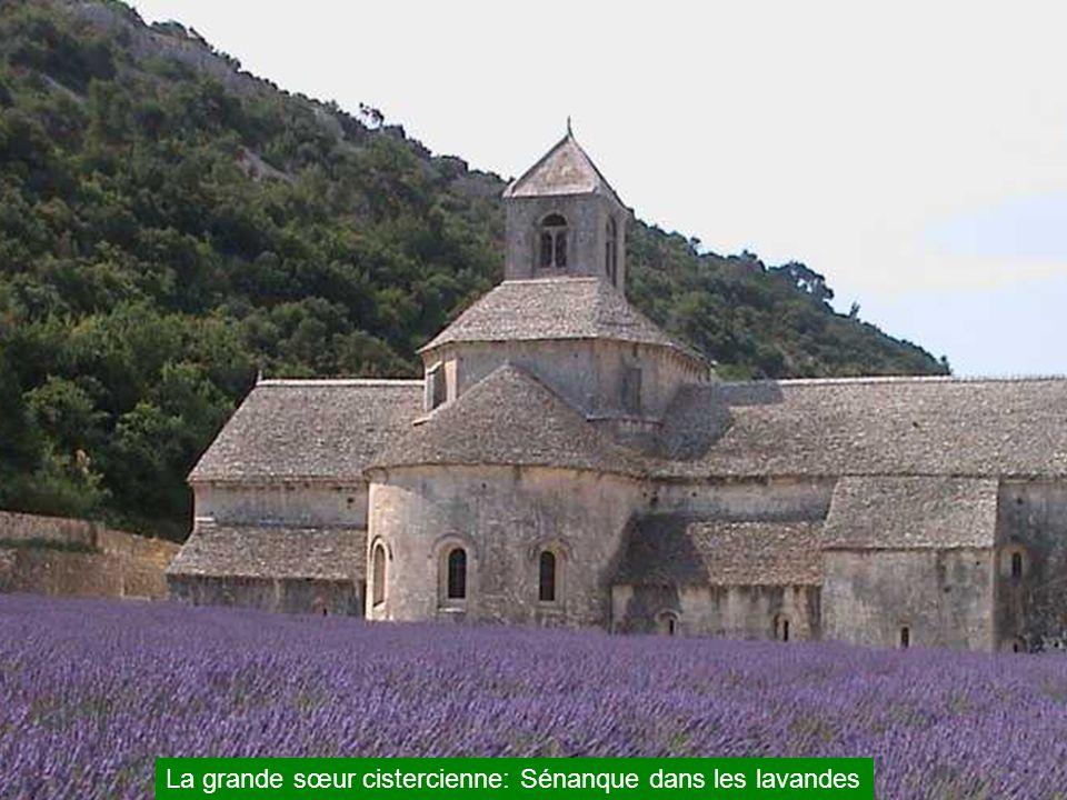 L'abbaye de Sylvacane à La Roque d'Anthèron: c'était au Moyen-âge, le passage à gué pour traverser la Durance sans se faire assaillir par les bandits de grands et petits chemins….