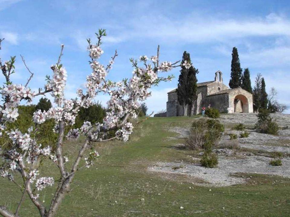St Sixte à Eygalières, simple et élégante, date de 1155