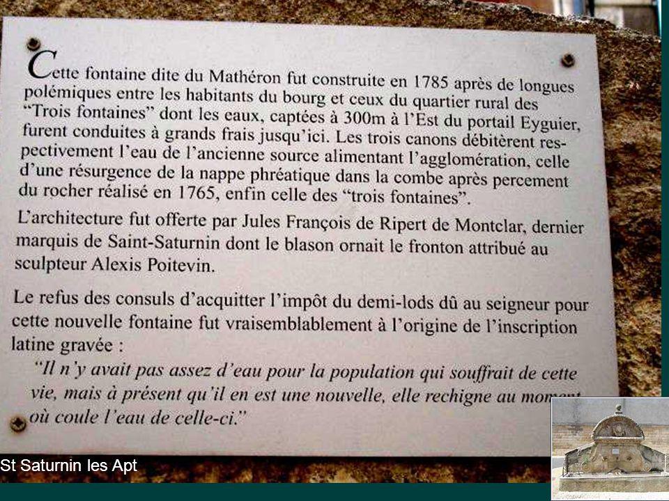 La Sainte Victoire » Sainte parce qu'elle a quelque chose de sacré et d'éternel, même si un jour elle aussi sera effacée, (façade nord)